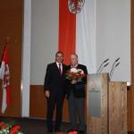 Ministerpräsident a.D. Matthias Platzeck mit Wolfgang Kohlhaase