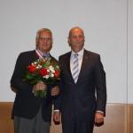 Ministerpräsident Dietmar Woidke mit Wolfram Hülsemann