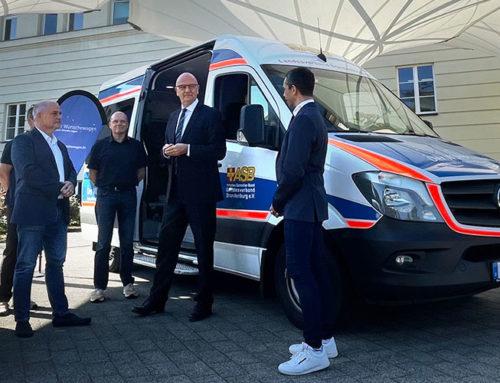 Fünf Jahre Wünschewagen zur Erfüllung letzter Träume: Woidke würdigt Initiative des Arbeiter-Samariter-Bundes