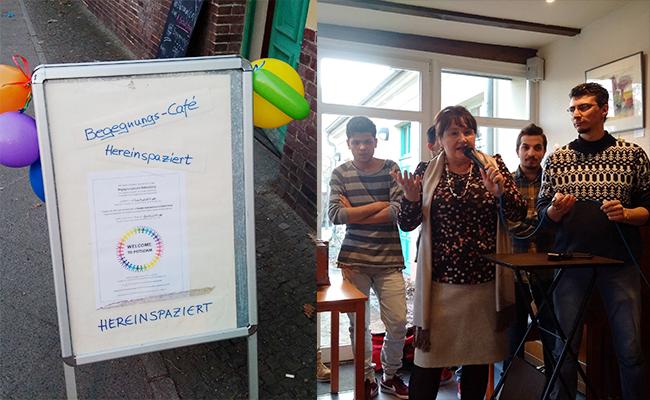Begegnungs-Café Babelsberg (Foto: Th. Kralinski/Facebook)