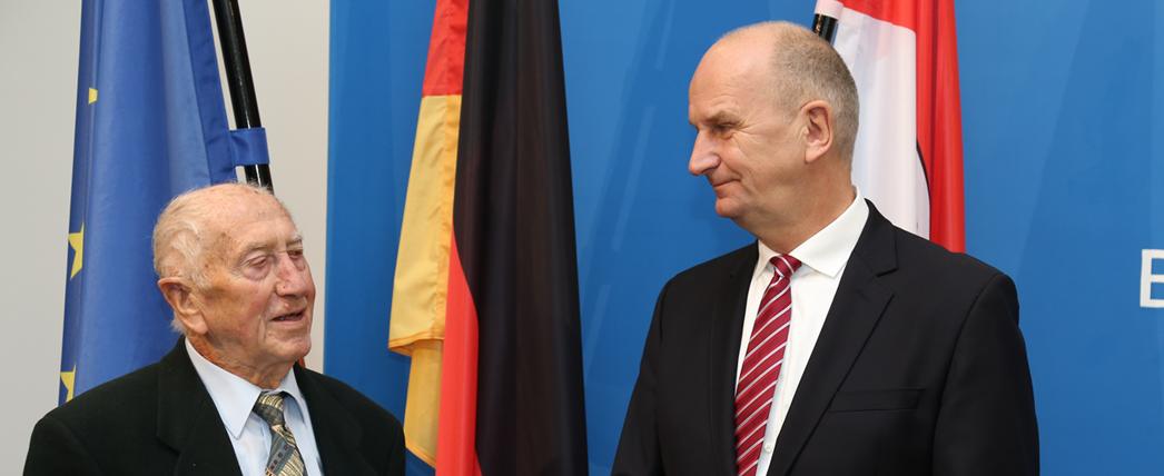 Reinhard Natusch und Dietmar Woidke