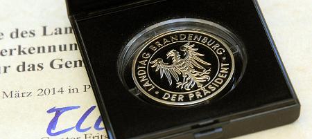 Ehrenmedaille des Landtages Brandenburg