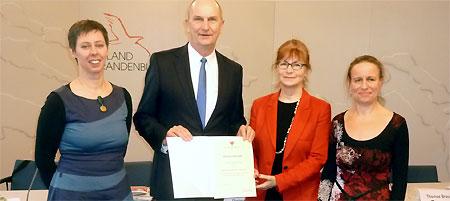 Ministerpräsident zeichnet Stiftung des Jahres, © brandenburg.de